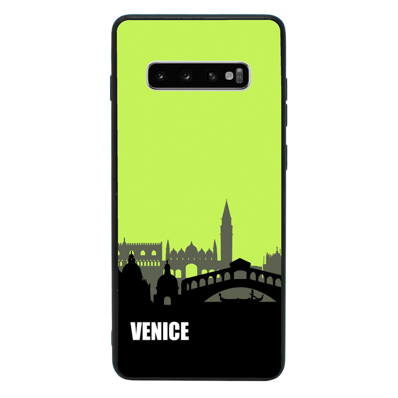 Glass Case Phone Cover for Samsung Galaxy S10E / Skyline I-Choose Ltd