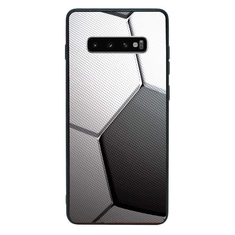 Glass Case Phone Cover for Samsung Galaxy S10E / Sports Ball I-Choose Ltd