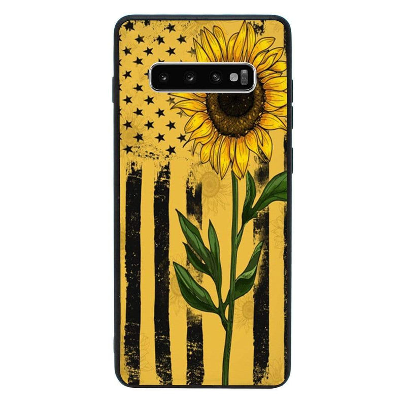 Glass Case Phone Cover for Samsung Galaxy S10E / Sunflower I-Choose Ltd