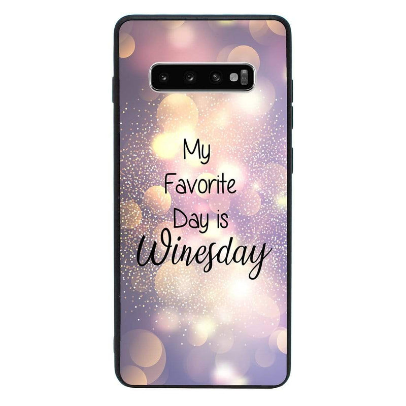 Glass Case Phone Cover for Samsung Galaxy S10E / Wine I-Choose Ltd