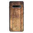 Glass Case Phone Cover for Samsung Galaxy S10E / Wood Effect I-Choose Ltd