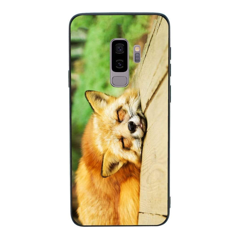 Glass Case Phone Cover for Samsung Galaxy S9 / Animals I-Choose Ltd