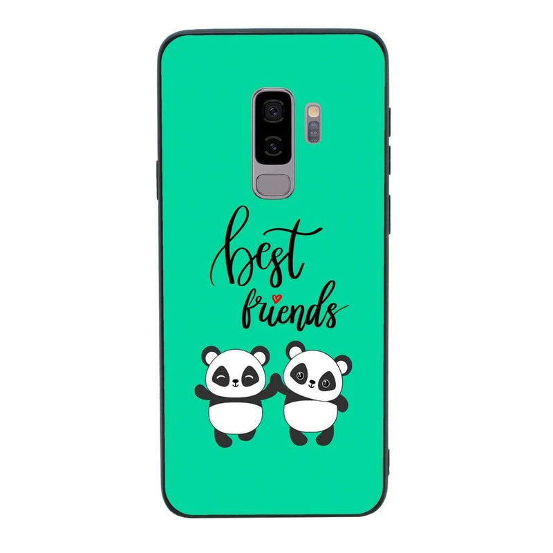 Glass Case Phone Cover for Samsung Galaxy S9 / Best Friends I-Choose Ltd