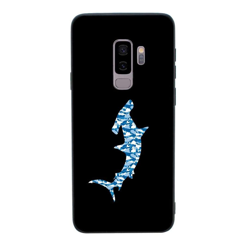 Glass Case Phone Cover for Samsung Galaxy S9 / Camo Animals I-Choose Ltd