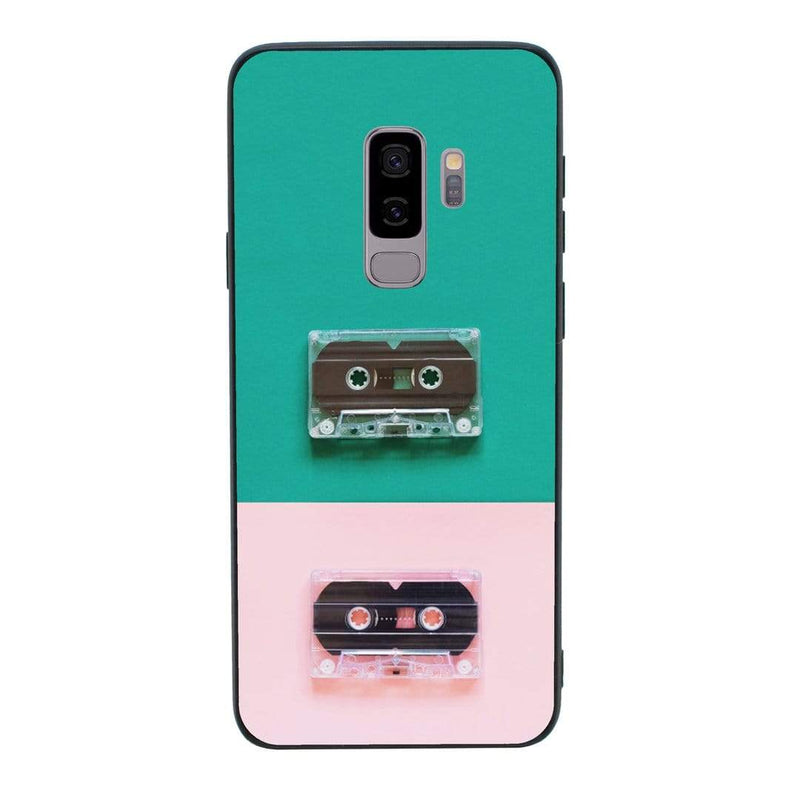Glass Case Phone Cover for Samsung Galaxy S9 / Cassette Tape I-Choose Ltd