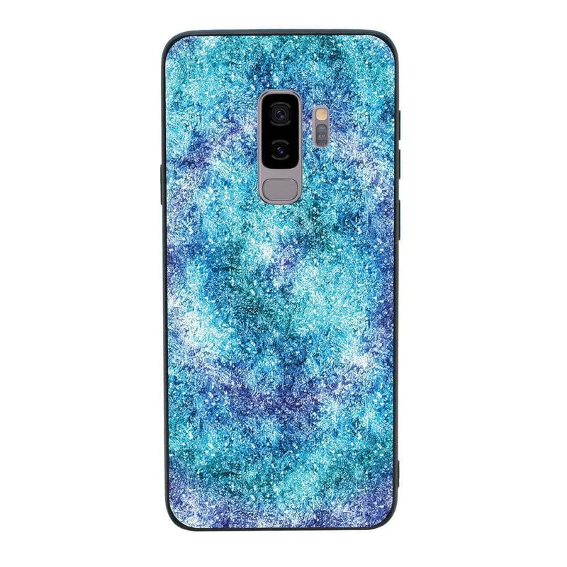 Glass Case Phone Cover for Samsung Galaxy S9 / Glitter I-Choose Ltd