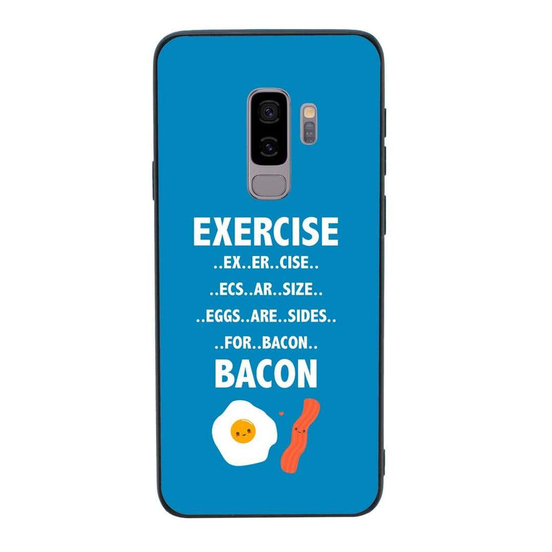 Glass Case Phone Cover for Samsung Galaxy S9 / Gym I-Choose Ltd