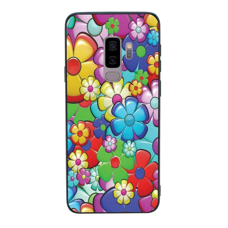 Glass Case Phone Cover for Samsung Galaxy S9 / Hippy I-Choose Ltd