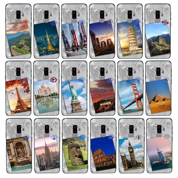 Glass Case Phone Cover for Samsung Galaxy S9 / Landmarks I-Choose Ltd