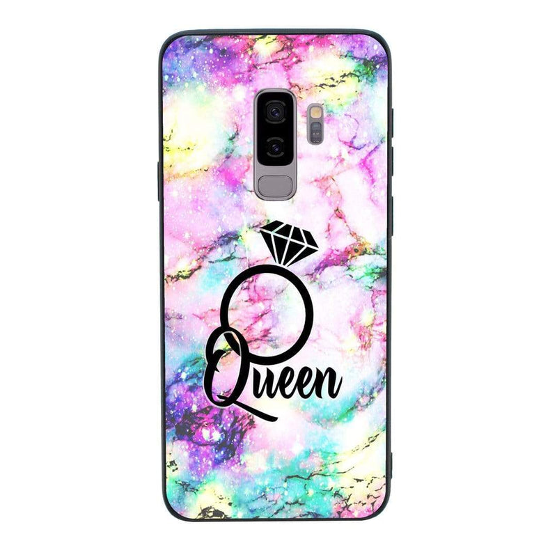 Glass Case Phone Cover for Samsung Galaxy S9 / Marble I-Choose Ltd