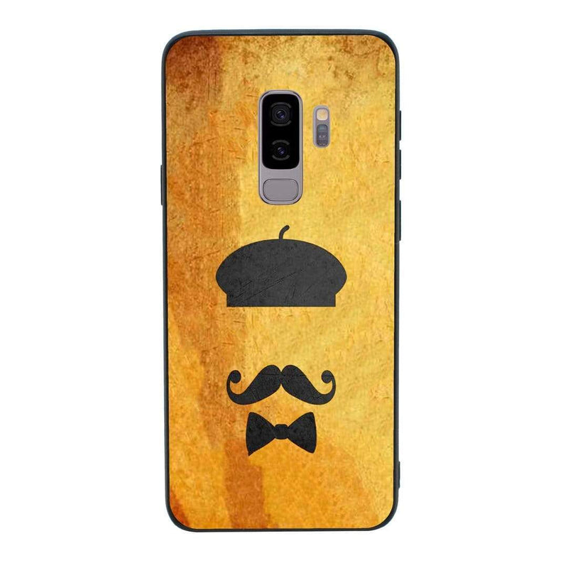 Glass Case Phone Cover for Samsung Galaxy S9 / Moustache I-Choose Ltd