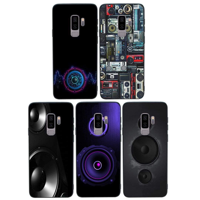 Glass Case Phone Cover for Samsung Galaxy S9 / Music Speakers I-Choose Ltd