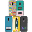 Glass Case Phone Cover for Samsung Galaxy S9 Plus / Cassette Tape I-Choose Ltd