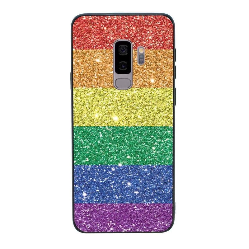 Glass Case Phone Cover for Samsung Galaxy S9 Plus / Glitter I-Choose Ltd