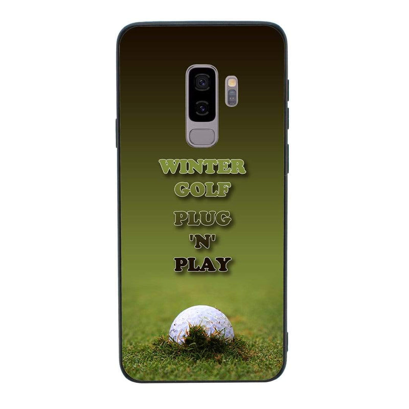 Glass Case Phone Cover for Samsung Galaxy S9 Plus / Golf I-Choose Ltd