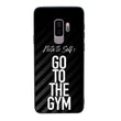 Glass Case Phone Cover for Samsung Galaxy S9 Plus / Gym I-Choose Ltd