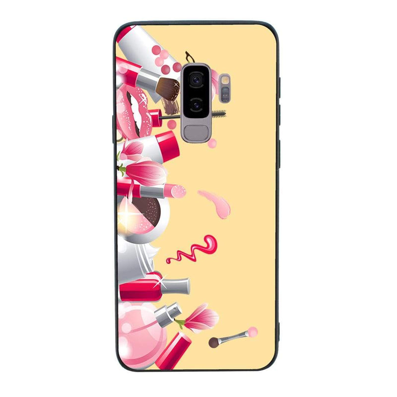 Glass Case Phone Cover for Samsung Galaxy S9 Plus / Lipstick I-Choose Ltd