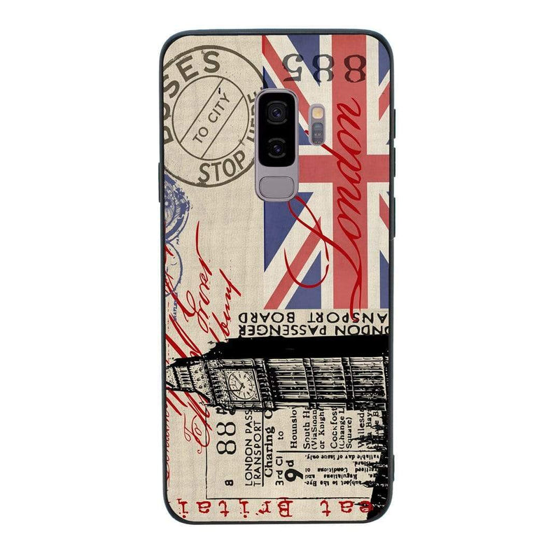 Glass Case Phone Cover for Samsung Galaxy S9 Plus / London I-Choose Ltd