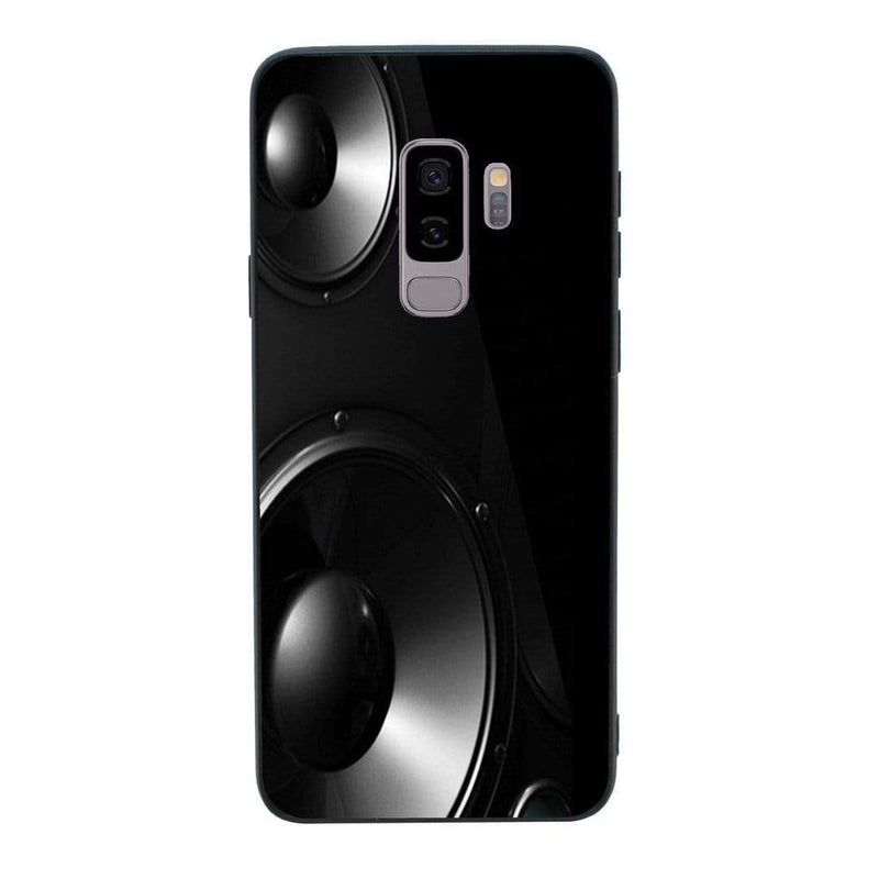 Glass Case Phone Cover for Samsung Galaxy S9 Plus / Music Speakers I-Choose Ltd