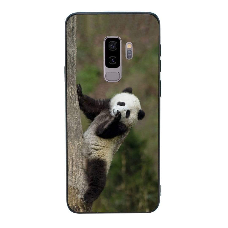 Glass Case Phone Cover for Samsung Galaxy S9 Plus / Panda Cub I-Choose Ltd