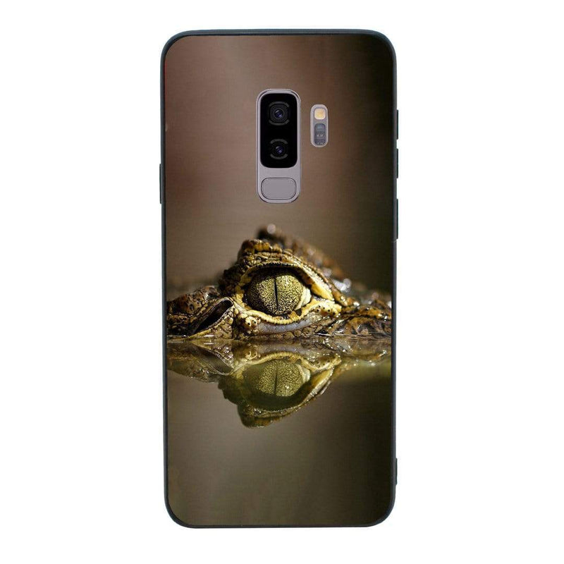 Glass Case Phone Cover for Samsung Galaxy S9 Plus / Reptile I-Choose Ltd