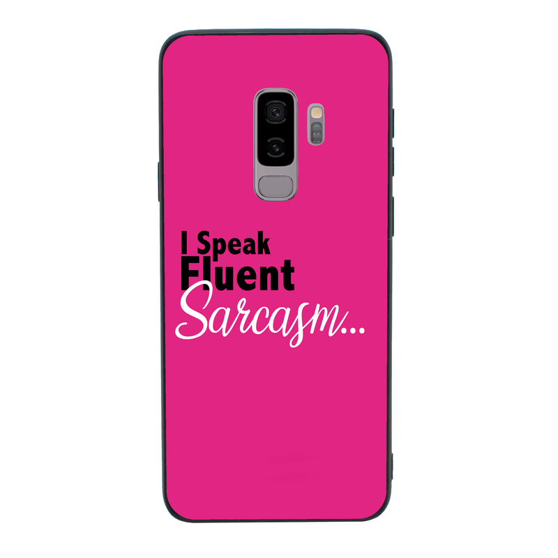 Glass Case Phone Cover for Samsung Galaxy S9 Plus / Sassy I-Choose Ltd