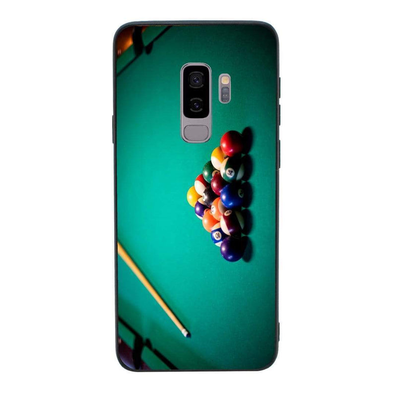 Glass Case Phone Cover for Samsung Galaxy S9 Plus / Snooker I-Choose Ltd