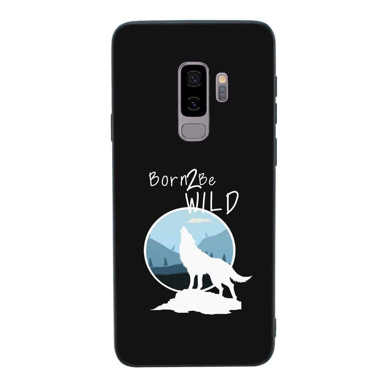 Glass Case Phone Cover for Samsung Galaxy S9 Plus / Wolf I-Choose Ltd