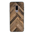 Glass Case Phone Cover for Samsung Galaxy S9 Plus / Wood Effect I-Choose Ltd