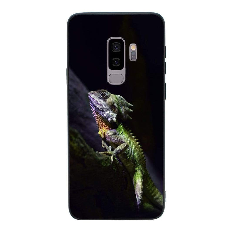 Glass Case Phone Cover for Samsung Galaxy S9 / Reptile I-Choose Ltd