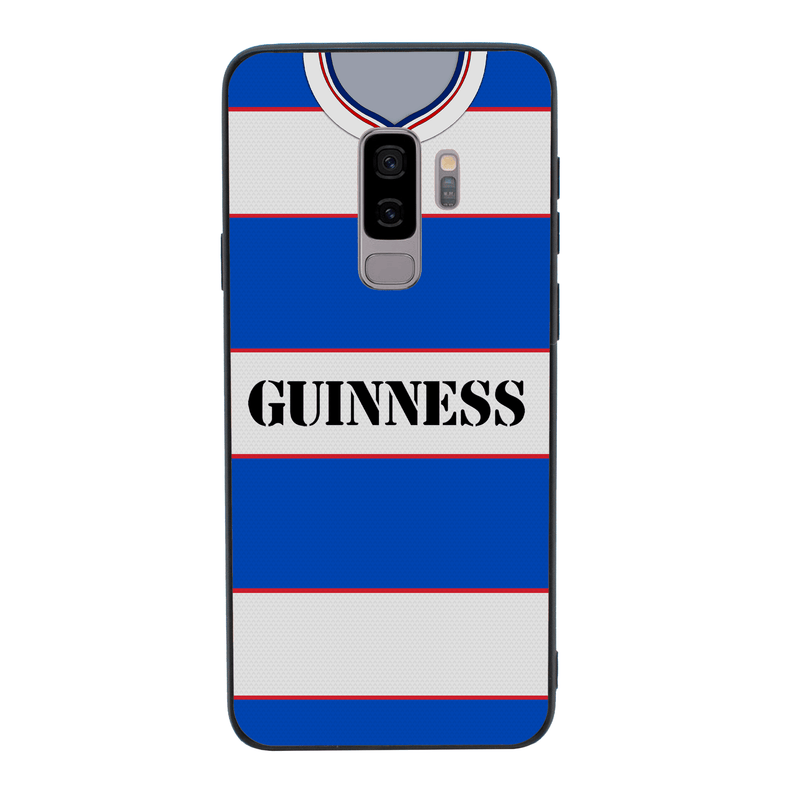 Glass Case Phone Cover for Samsung Galaxy S9 / Retro Football Shirt I-Choose Ltd
