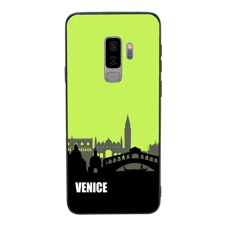 Glass Case Phone Cover for Samsung Galaxy S9 / Skyline I-Choose Ltd