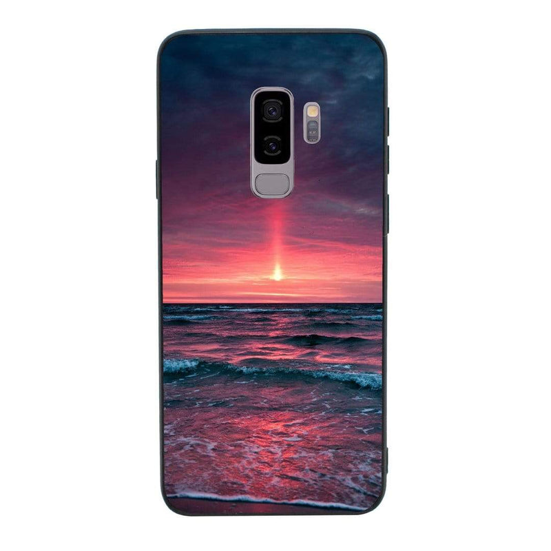 Glass Case Phone Cover for Samsung Galaxy S9 / Sunset I-Choose Ltd