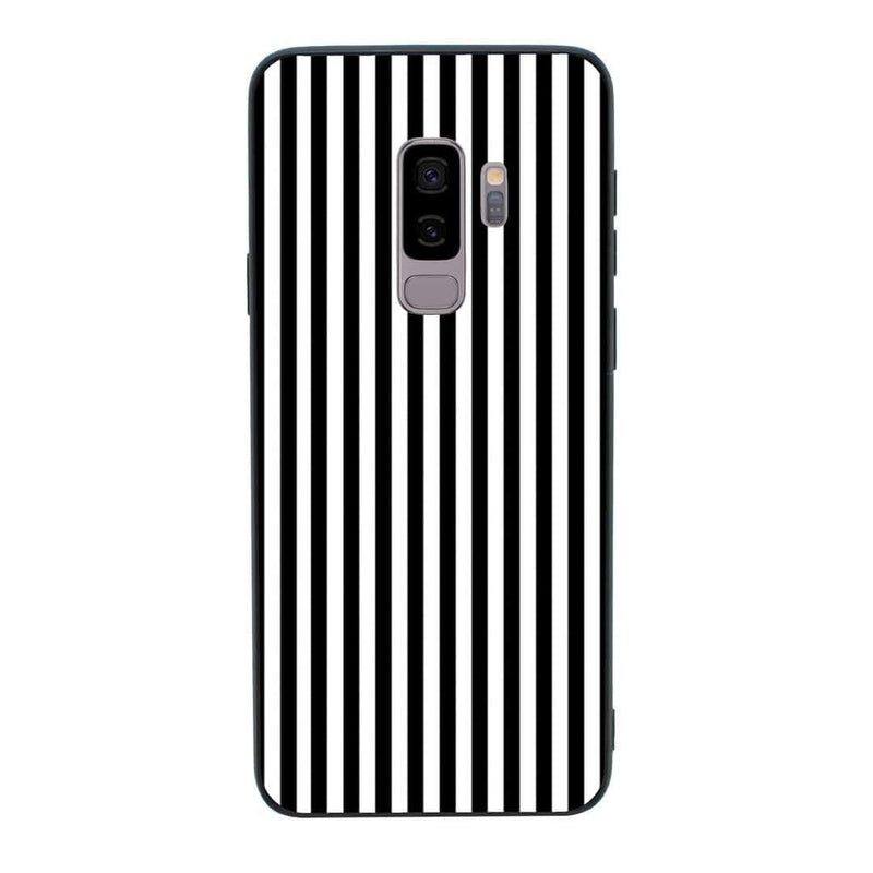 Glass Case Phone Cover for Samsung Galaxy S9 / Vertical Stripes I-Choose Ltd
