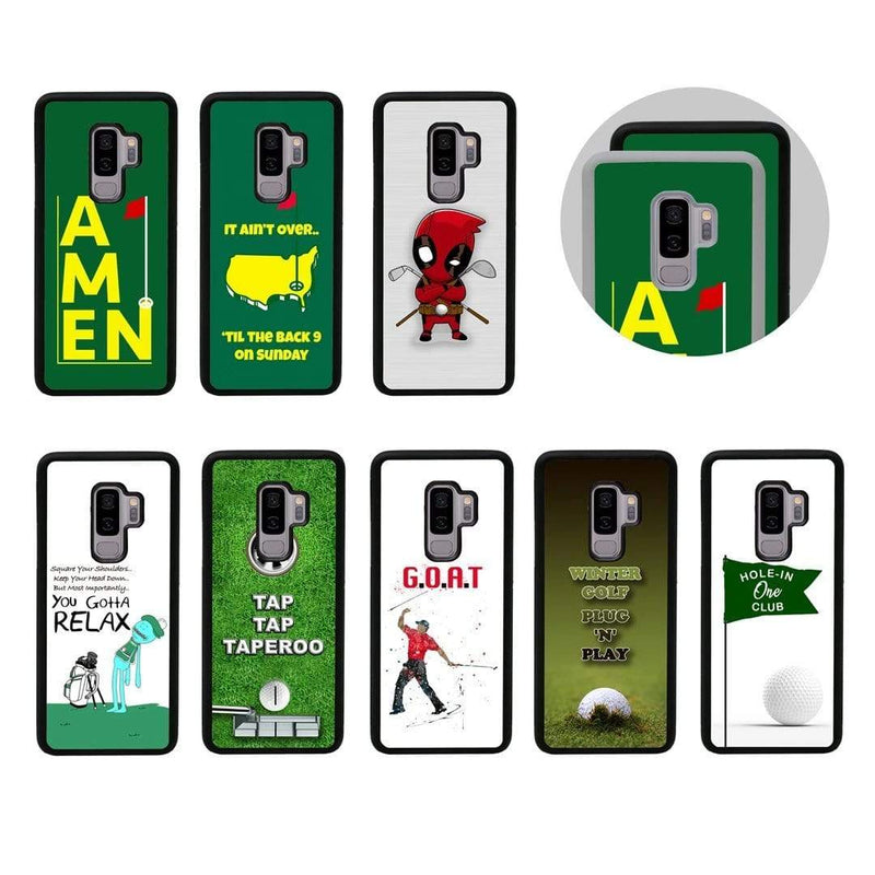 Golf Case Phone Cover for Samsung Galaxy S9 I-Choose Ltd