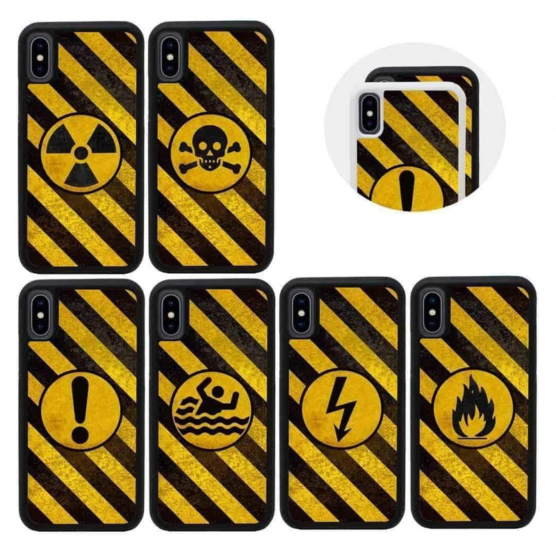Hazard Case Phone Cover for Apple iPhone X XS 10 I-Choose Ltd