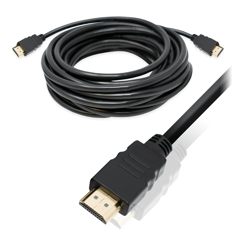HDMI High Speed Cable Male to Male 3D 4K Support 1.8m Black I-Choose Ltd