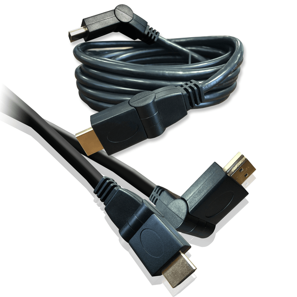 HDMI Swivel High Speed with Ethernet Cable 1.8m Black I-Choose Ltd