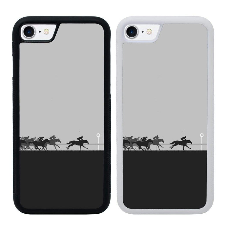Horse Racing Case Phone Cover for Apple iPhone 6 6s Plus I-Choose Ltd