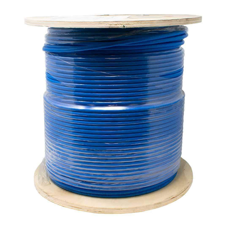 ICE CAT6A/LSZH/BOX/BLUE Low Smoke Augmented Cable 305m Blue I-Choose Ltd