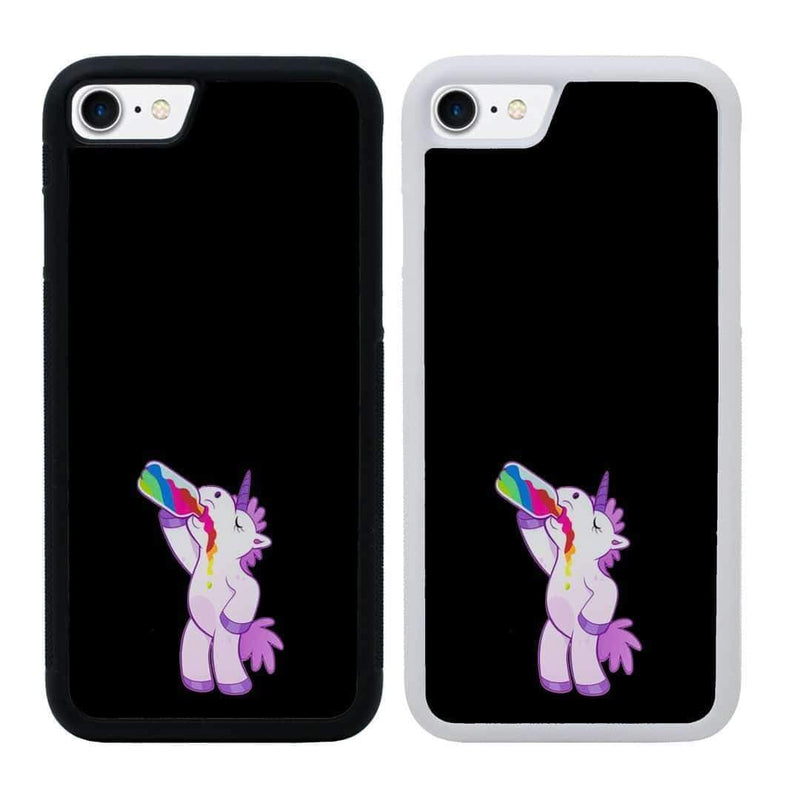 Naughty Unicorn Case Phone Cover for Apple iPhone 6 6s Plus I-Choose Ltd