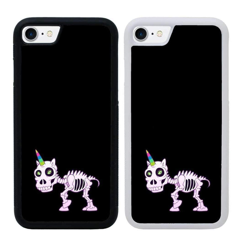 Naughty Unicorn Case Phone Cover for Apple iPhone 8 Plus I-Choose Ltd