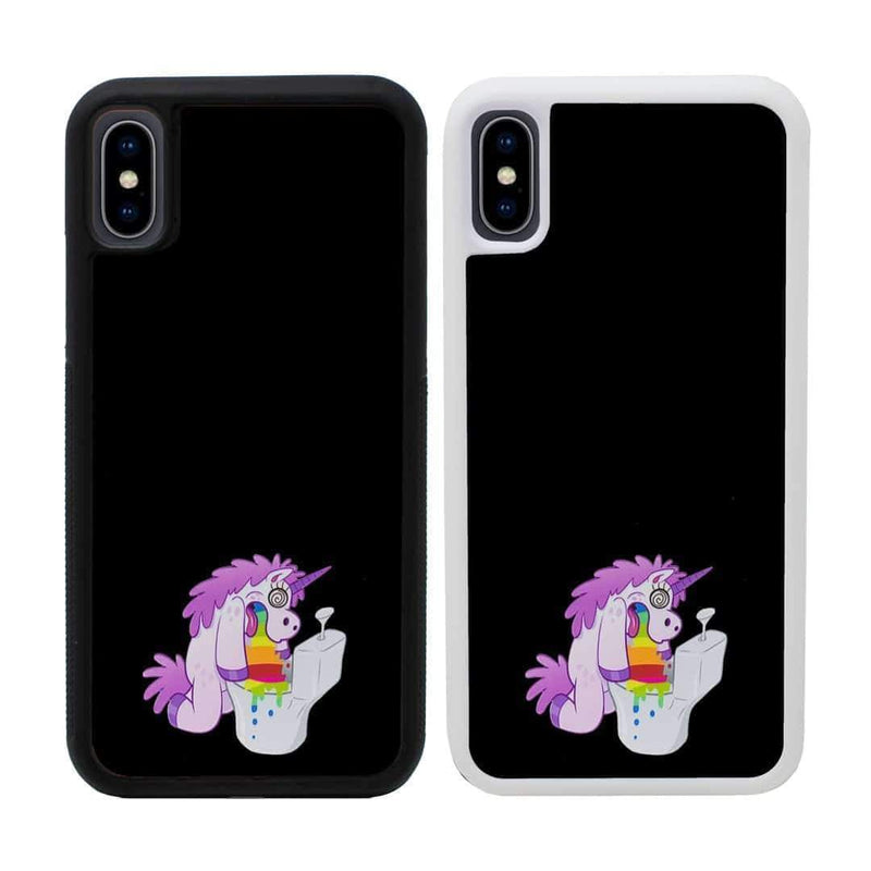 Naughty Unicorn Case Phone Cover for Apple iPhone XR I-Choose Ltd