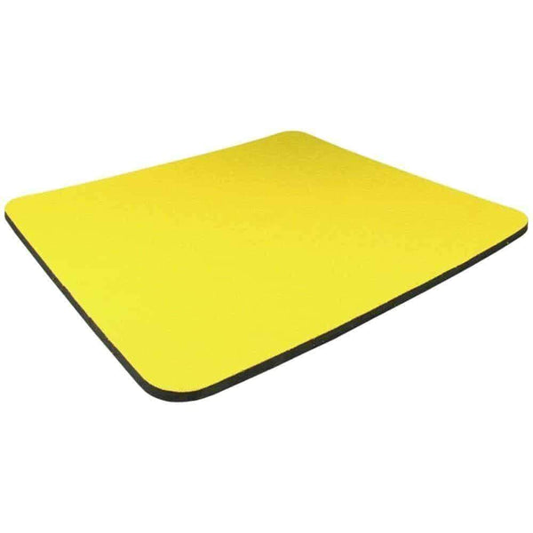 Non Slip Mouse Mat for Optical Mouse in Yellow I-Choose Ltd