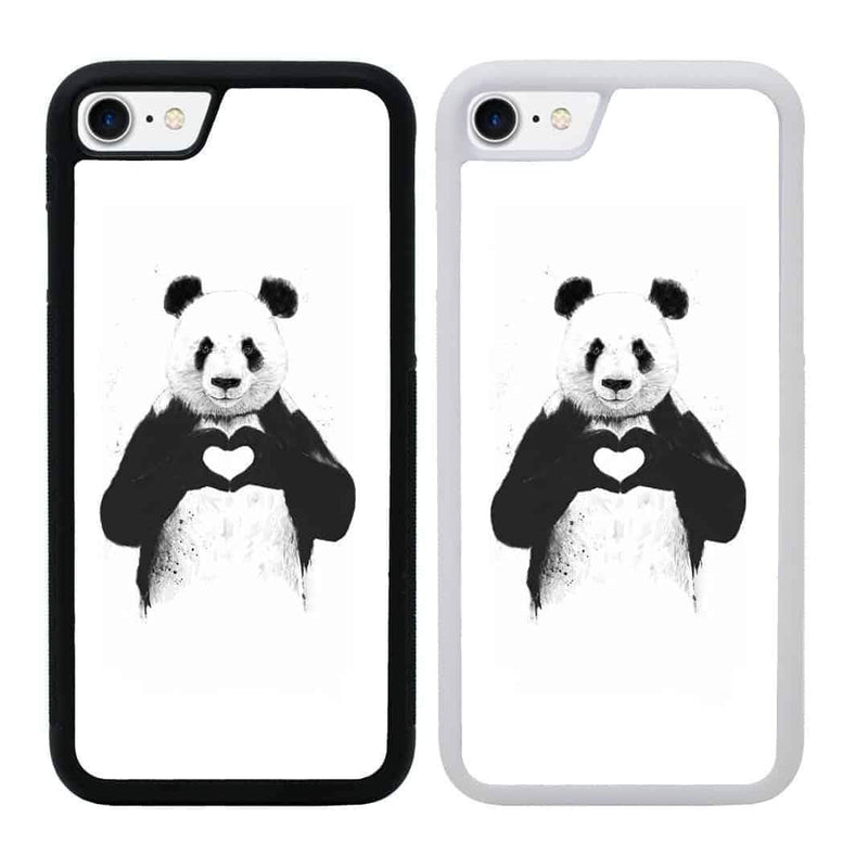 Panda Black and White Case Phone Cover for Apple iPhone 7 I-Choose Ltd
