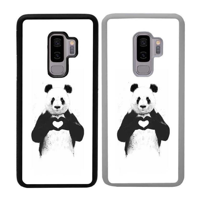 Panda Black and White Case Phone Cover for Samsung Galaxy S10 Plus I-Choose Ltd