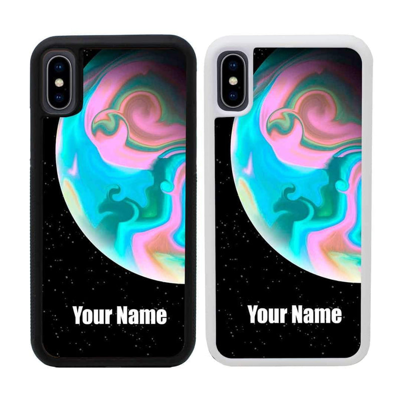 Personalised Acrylic Planets Case Phone Cover for Apple iPhone XS Max I-Choose Ltd
