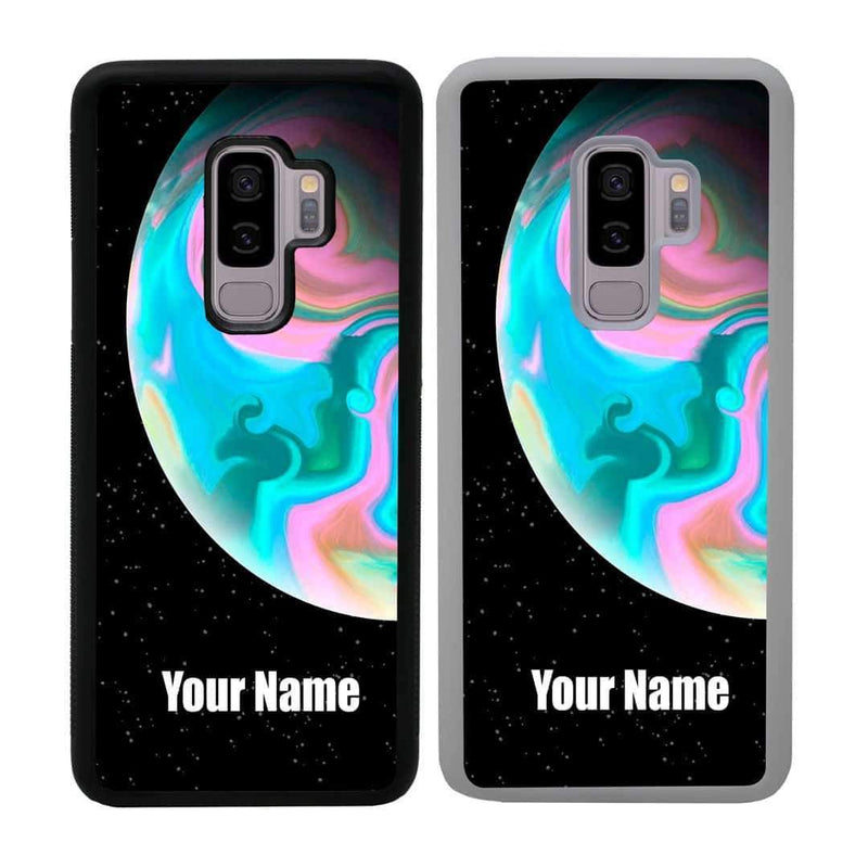 Personalised Acrylic Planets Case Phone Cover for Samsung Galaxy S9 Plus I-Choose Ltd