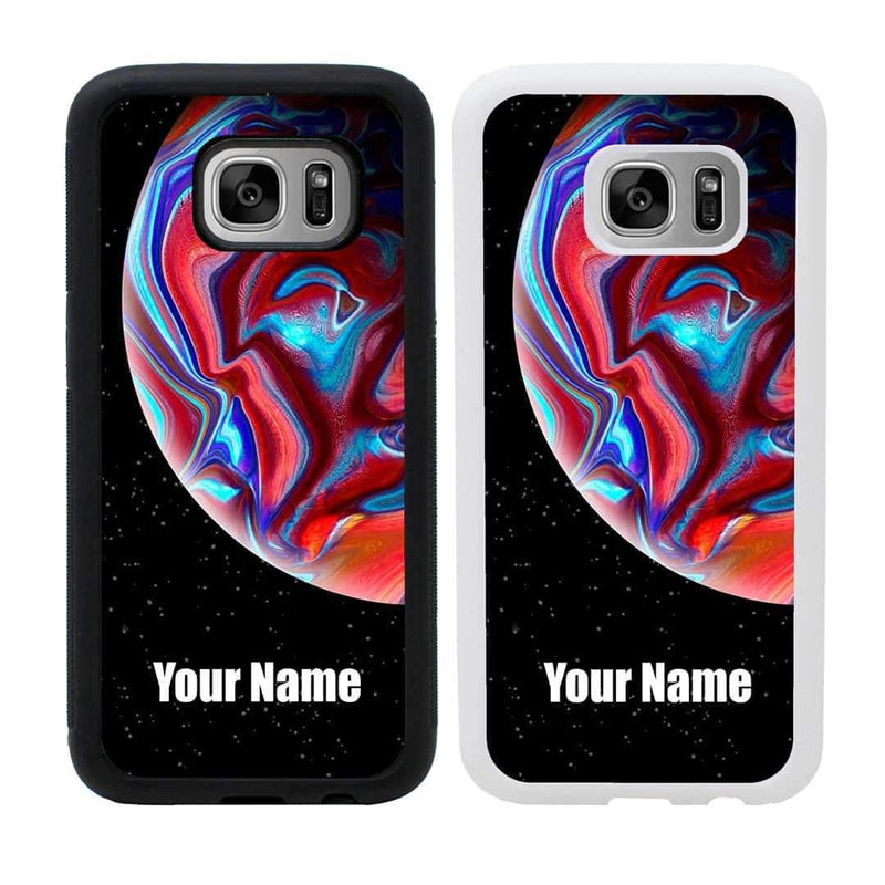 Personalised Acrylic Planets Case Phone Cover for Samsung Galaxy S9 I-Choose Ltd