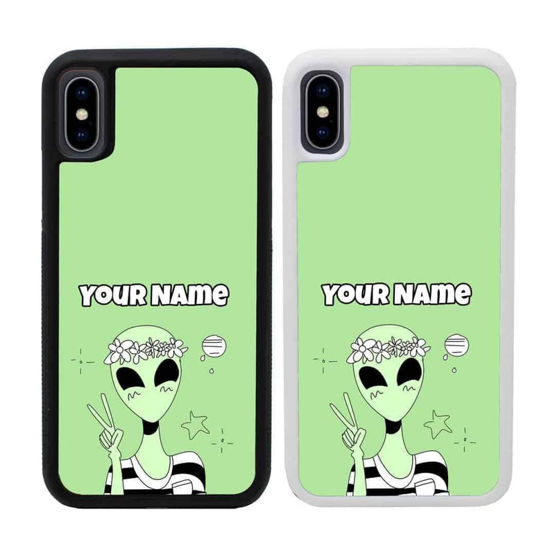 Personalised Aliens Case Phone Cover for Apple iPhone XR I-Choose Ltd